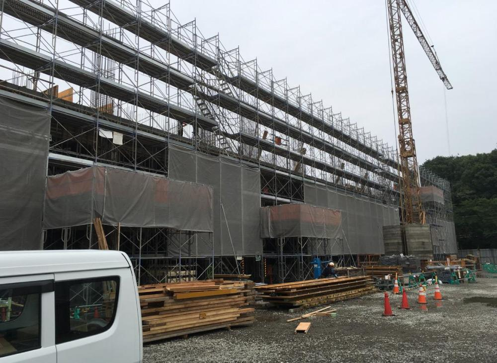 笹川中学校改築工事